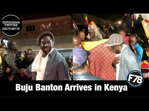 Buju Banton Arrives in Kenya [2/13/2020]