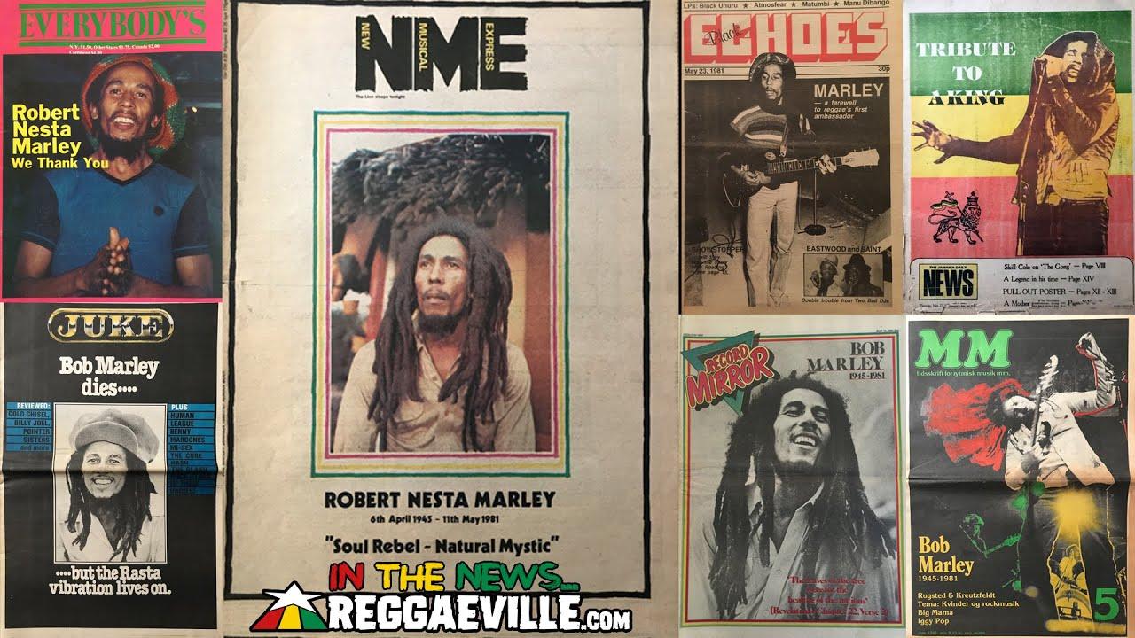 IN THE PRESS 1981... Bob Marley RIP - May 11, 1981 (40th Anniversary 2021) [5/11/2021]
