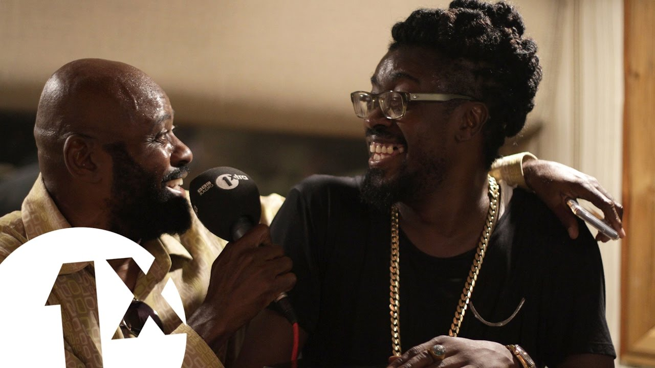 Beenie Man, Stitchie & Josey Wales at King Jammy's Studio Jamaica @ BBC 1Xtra [2/23/2017]