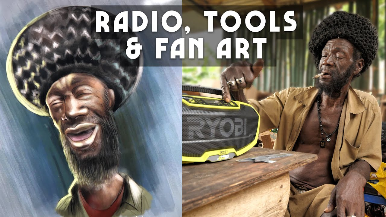 Ras Kitchen - New Radio, Tools & Amazon FIYAH! (and some Fan Art) [7/30/2021]
