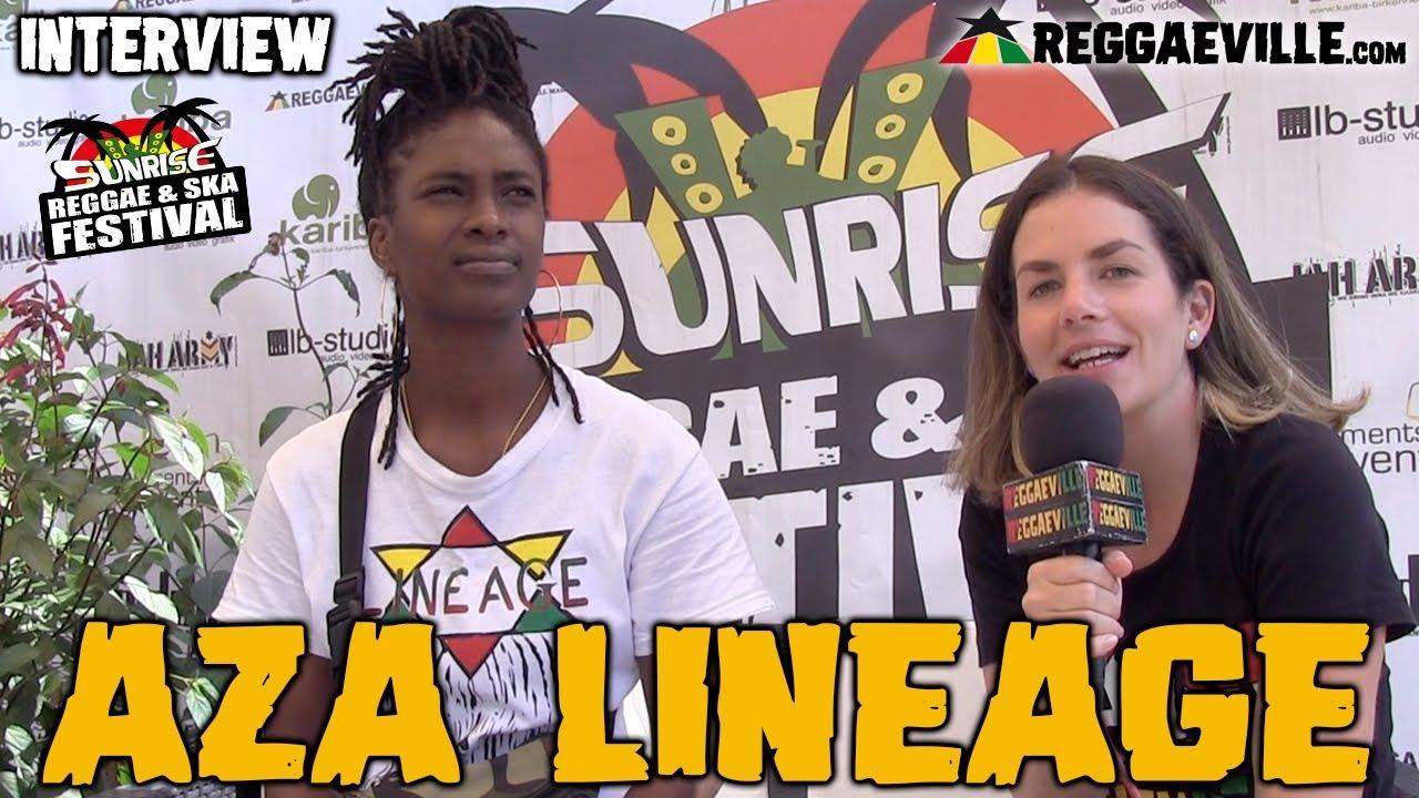 Aza Lineage - Interview @Sunrise Reggae & Ska Festvial 2019 [7/14/2019]