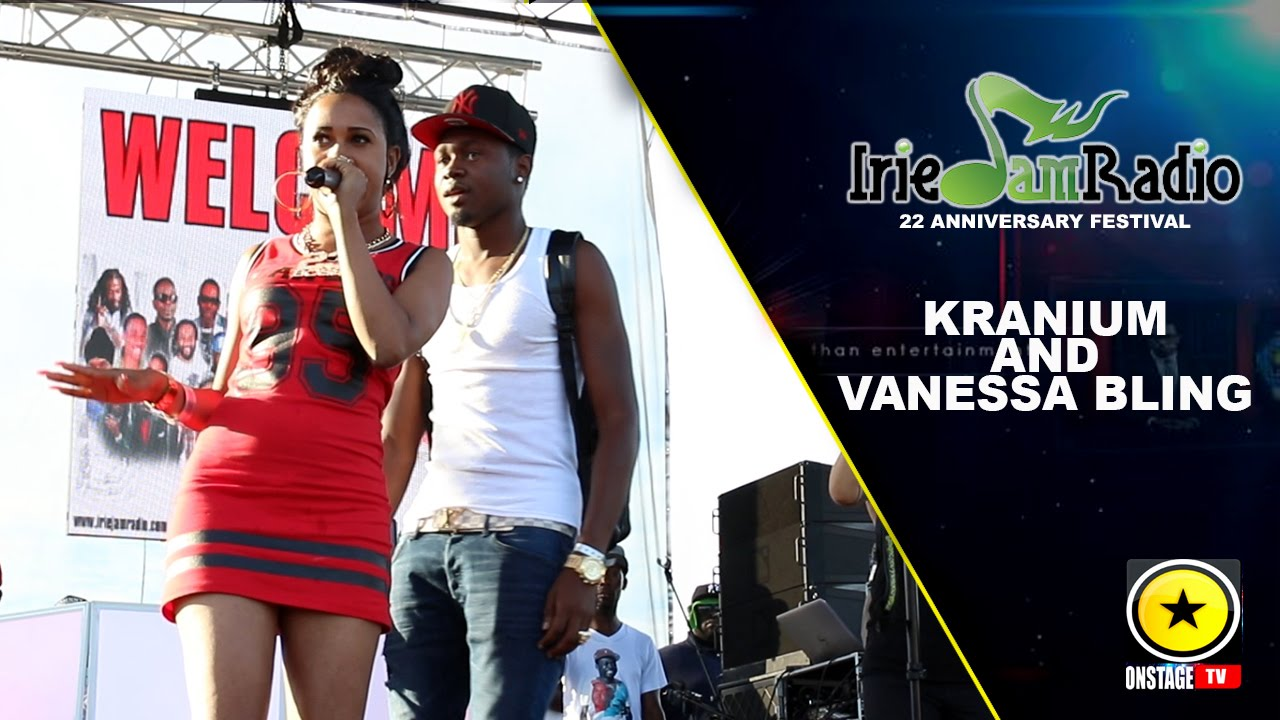 Kranium & Vanessa Bling @ Irie Jam Radio Anniversary Festival 2015 (Onstage TV) [9/6/2015]