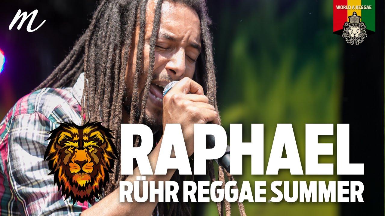 Raphael @ Ruhr Reggae Summer Dortmund 2015 [6/7/2015]