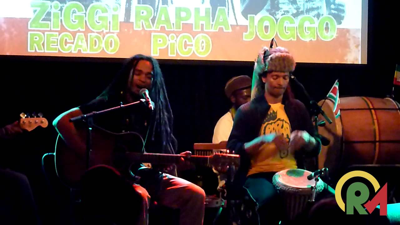 Rapha Pico & The Roots Rockers - Roots in Amsterdam, Netherlands @ Reggae Unplugged 2015 [3/21/2015]