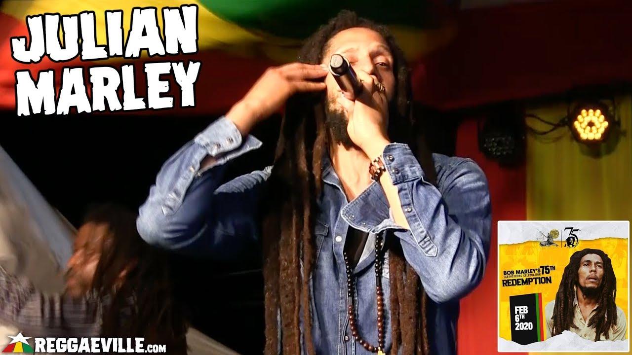 Julian Marley @ Bob Marley 75th Earthstrong Celebration in Kingston, Jamaica [2/6/2020]