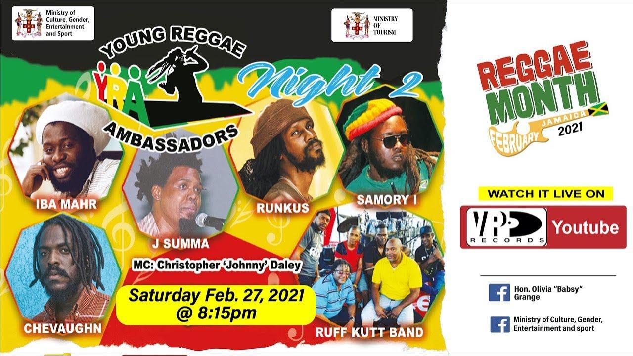 Young Reggae Ambassadors 2021 [2/20/2021]
