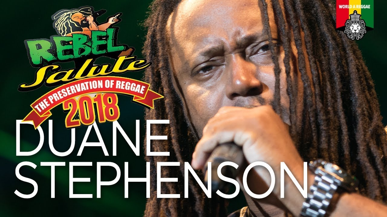 Duane Stephenson Live at Rebel Salute 2018 [1/13/2018]