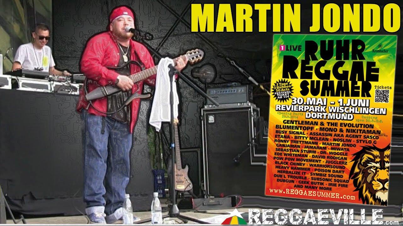 Martin Jondo - Guiding Star @ Ruhr Reggae Summer in Dortmund 2014 [6/1/2014]