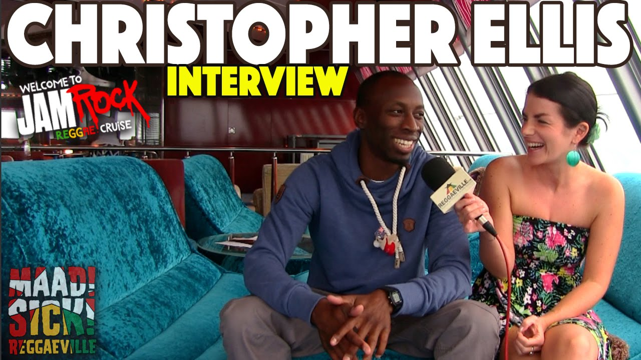 Christopher Ellis Interview @ Welcome To Jamrock Reggae Cruise 2015 [12/1/2015]