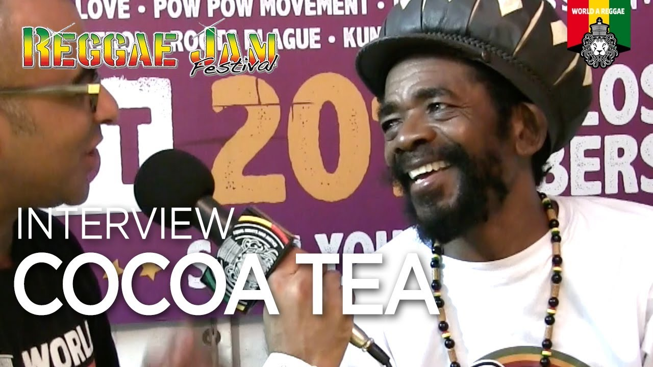 Cocoa Tea Interview with World A Reggae @ Reggae Jam 2018 [8/5/2018]