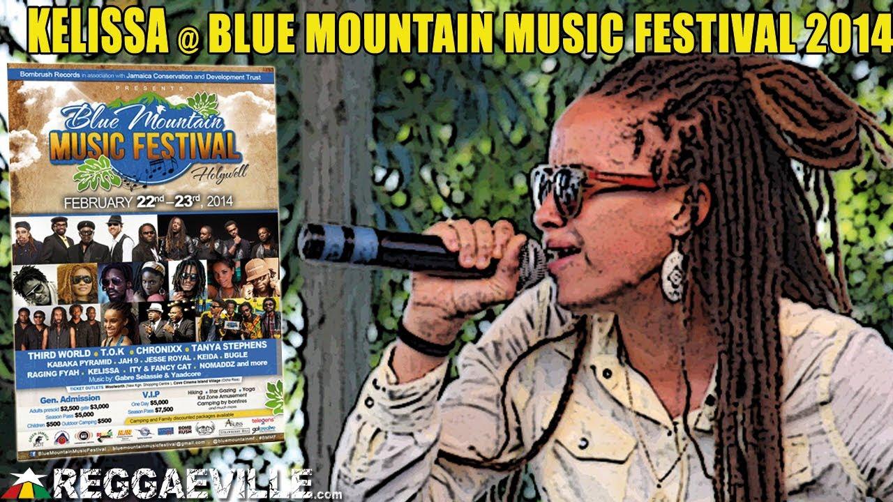 Kelissa @ Blue Mountain Music Festival 2014 [2/23/2014]