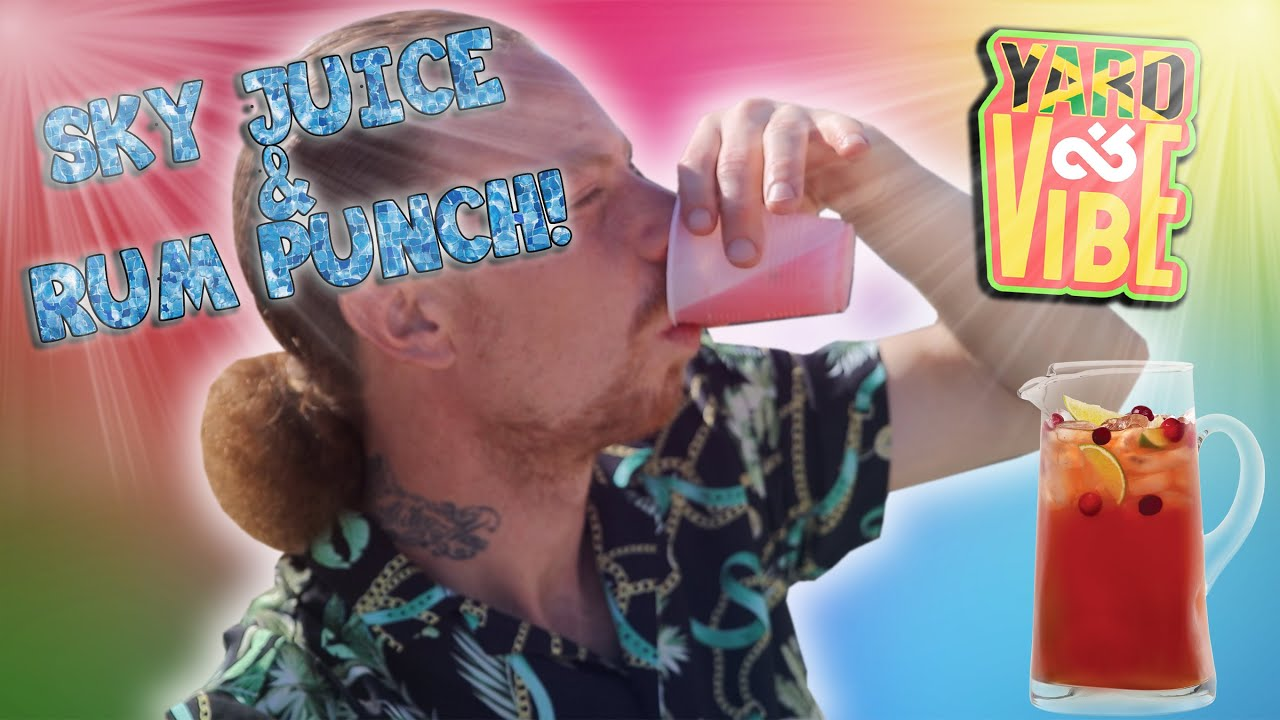 Cook & Vibe - How To Make Sky Juice / Homemade Bag Juice / Rum Punch [6/28/2020]