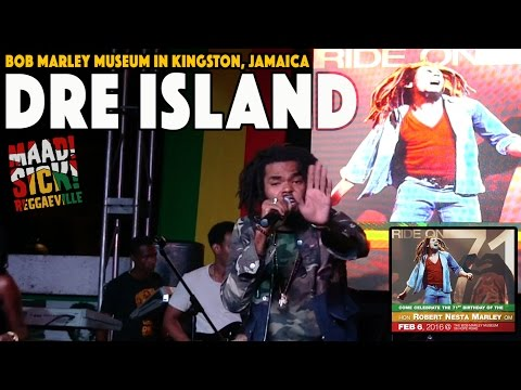 Dre Island - On Time @ Bob Marley's 71st Birthday Celebration in Kingston, Jamaica [2/6/2016]