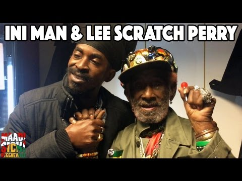 Backstage Vibes - InI Man & Lee Scratch Perry in Munich @ Reggaeville Easter Special 2016 [3/24/2016]