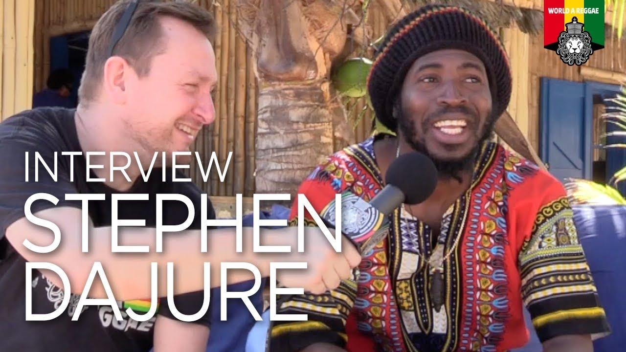 Interview with Stephen Dajure @ World A Reggae [1/12/2018]