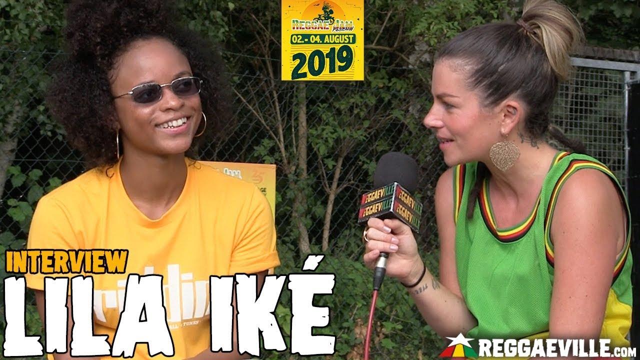 Lila Iké - Interview @ Reggae Jam 2019 [8/4/2019]