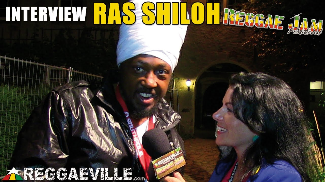 Interview with Ras Shiloh @ Reggae Jam [8/3/2013]