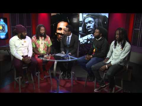 Kabaka Pyramid, Iba Mahr, Exco Levi & Nesbeth about Bob Marley & Dennis Brown @ Onstage TV [2/7/2015]