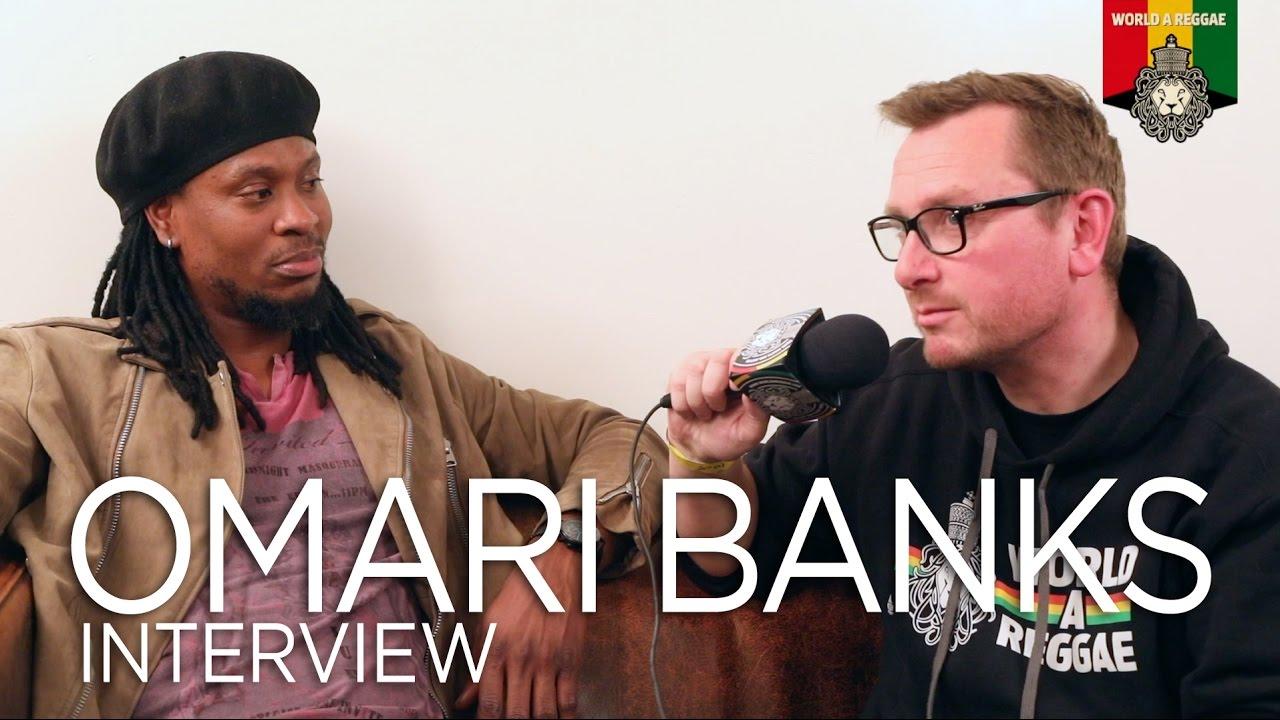Interview with Omari Banks @ World Of Reggae [5/16/2017]