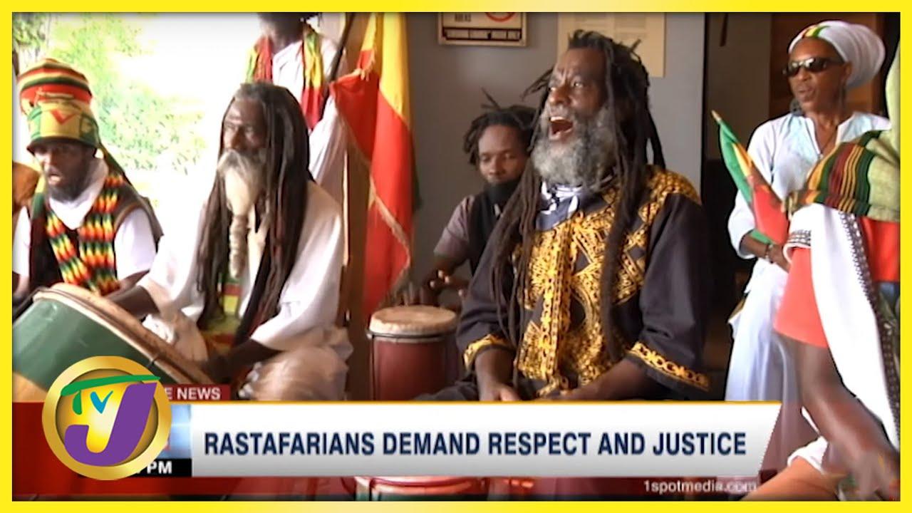 Jamaica's Rastafarians Demand Respect & Justice (TVJ News) [9/8/2021]