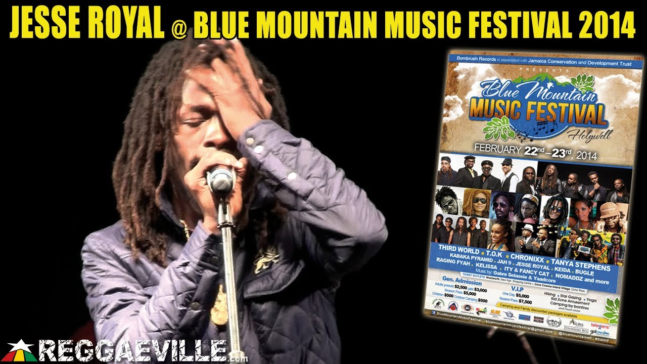 Jesse Royal @ Blue Mountain Music Festival 2014 [2/23/2014]