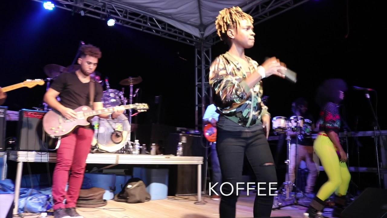 Koffee - Burning @ Wickie Wackie Festival 2017 [12/16/2017]