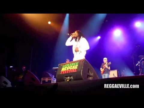 Gyptian @Garance Reggae Festival [7/30/2011]