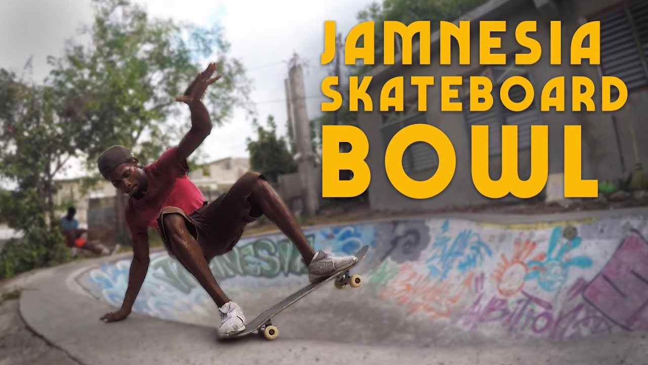 Ras Kitchen - Jamnesia Skateboard Bowl in Bull Bay Jamaica [10/8/2019]