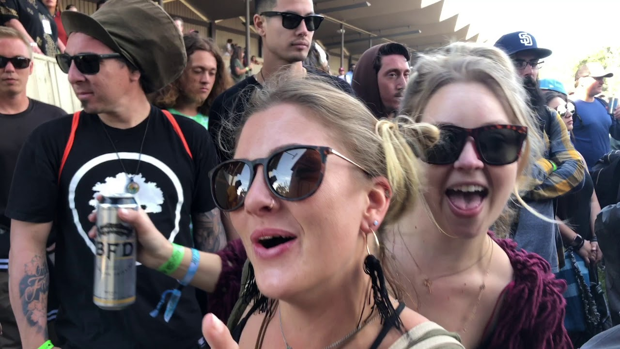 Cali Roots Day #1 - Vlog (Allie Adams of Bulldog Media) [5/27/2018]