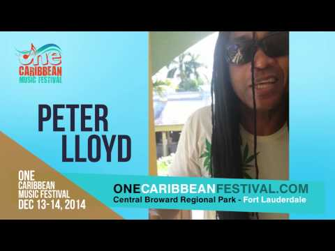 Peter Lloyd @ One Caribbean Music Festival 2014 [11/27/2014]
