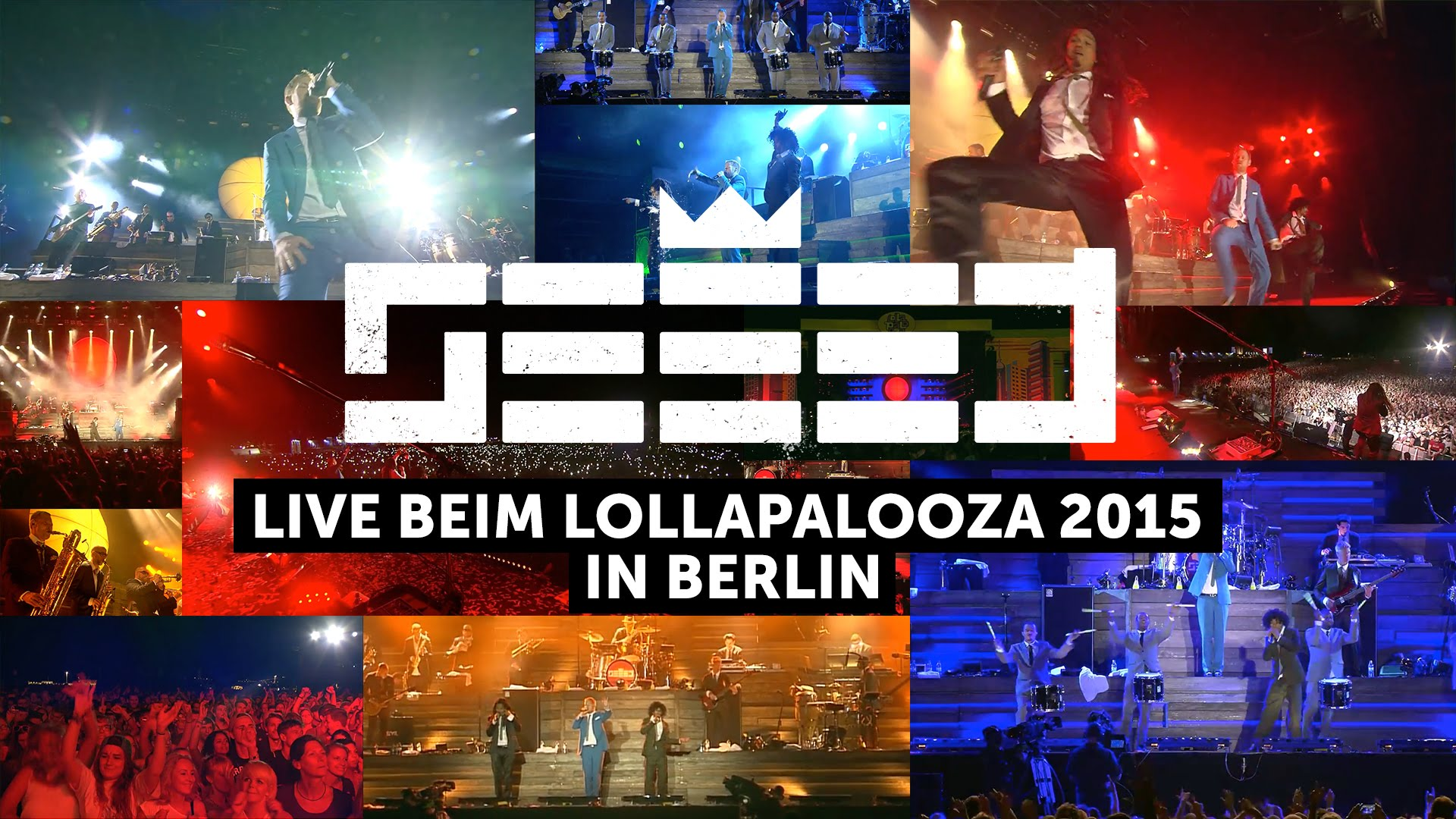 Seeed @ Lollapalooza Berlin 2015 (Full Show) [9/13/2015]