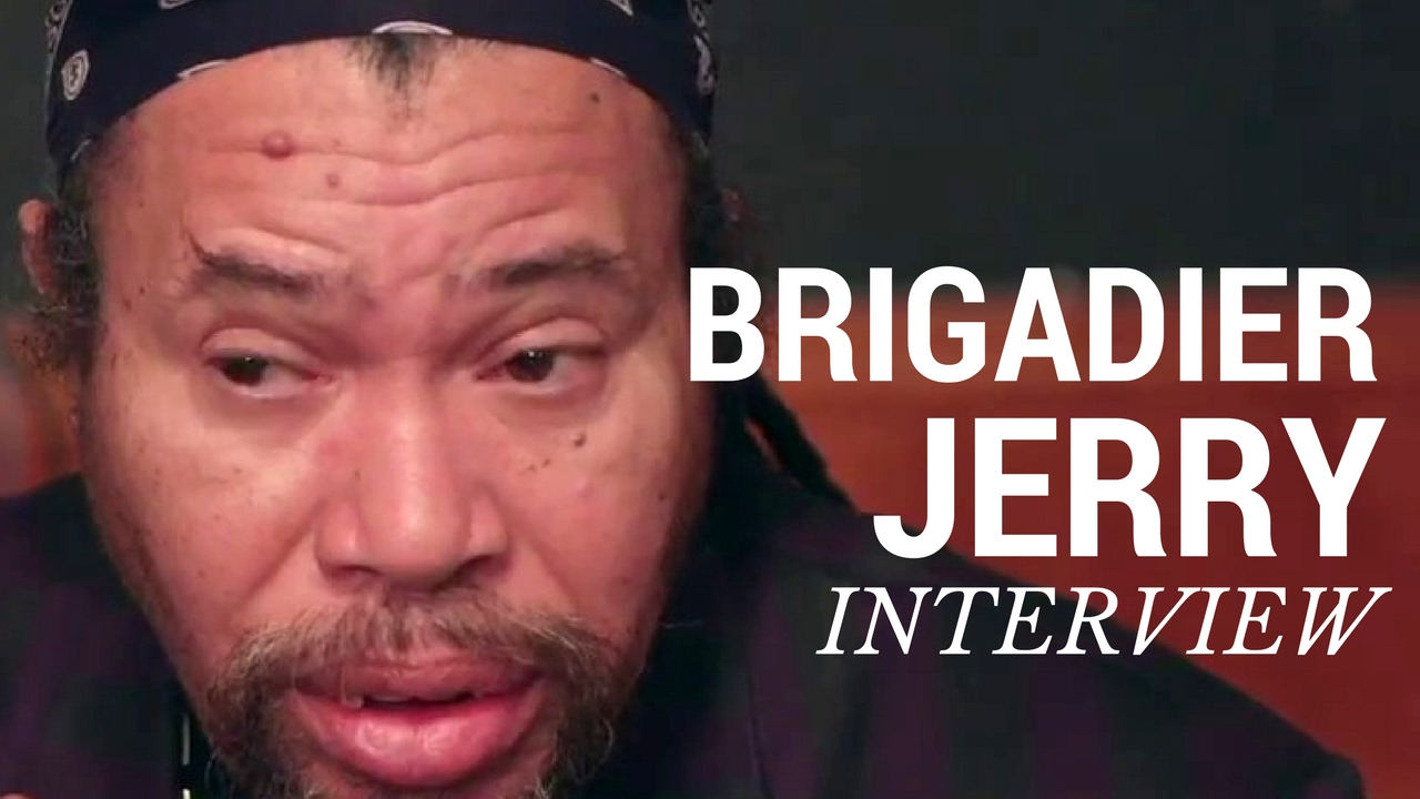 Interview with Brigadier Jerry @ I NEVER KNEW TV [2/16/2017]