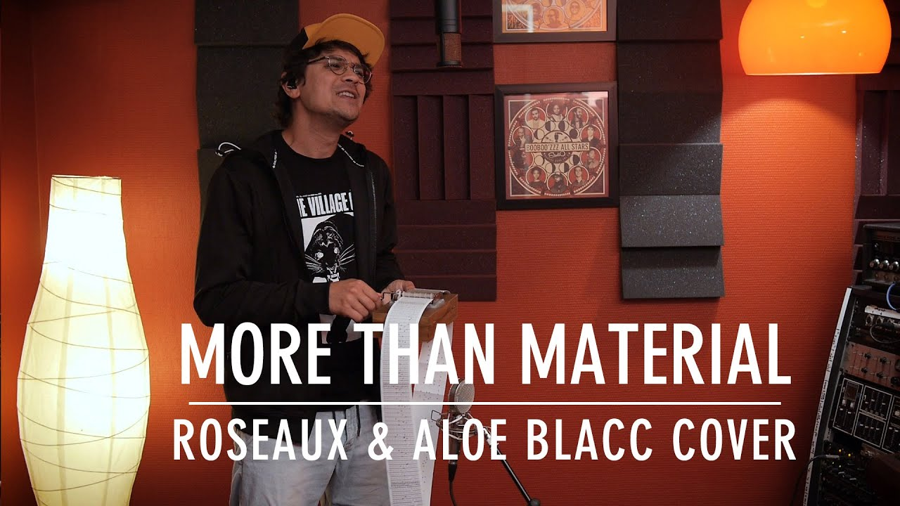 Booboo'zzz All Stars - More Than Material (Roseaux & Aloe Blacc Cover) [10/20/2020]