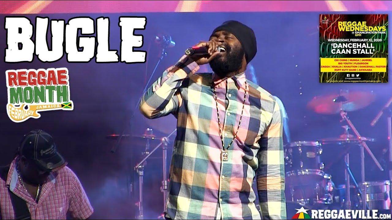Bugle in Kingston, Jamaica @ Reggae Wednesdays - Dancehall Caan Stall 2020 [2/12/2020]