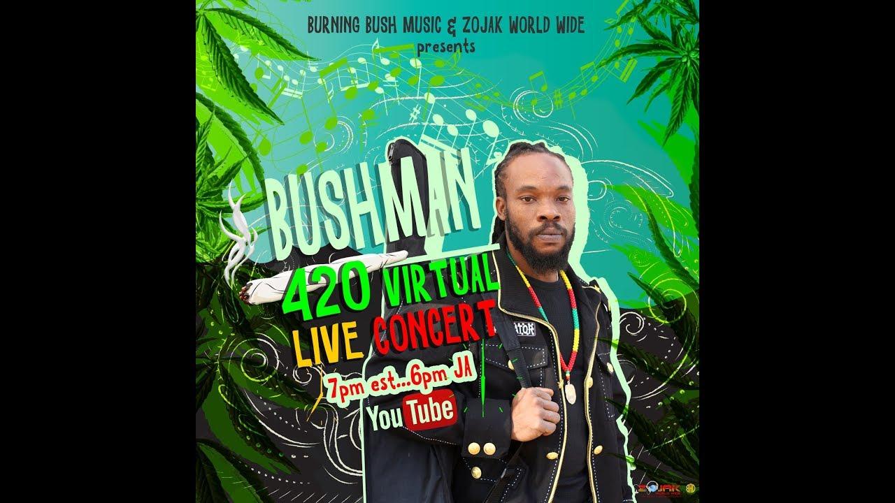 Bushman - Live from Kingston, Jamaica (Stream) [4/20/2020]