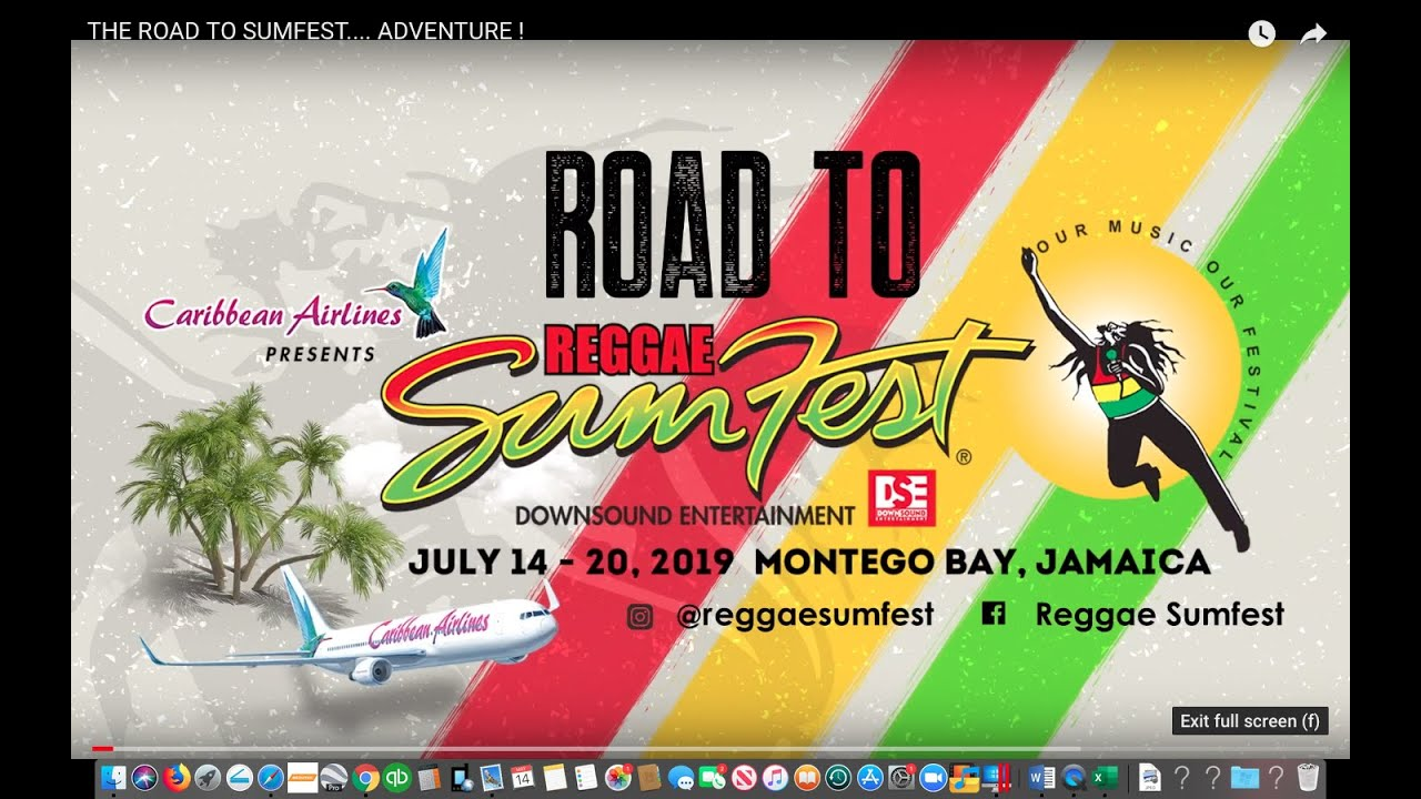 The Road To Sumfest 2019 - One Fine Ride (Trailer) [5/12/2019]