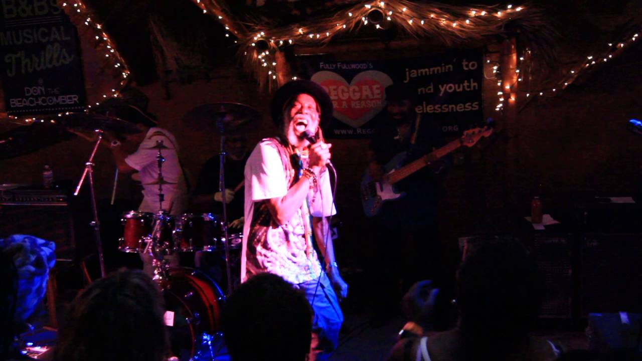 Big Youth @ Fully Fullwood's Reggae Sunday [8/7/2016]