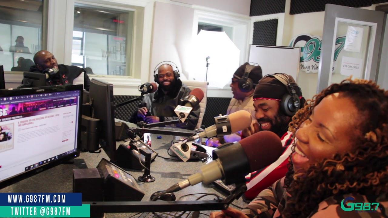 Lt. Stitchie, Pinchers & Exco Levi Speak about the State of Reggae Music @ G987FM [2/19/2019]