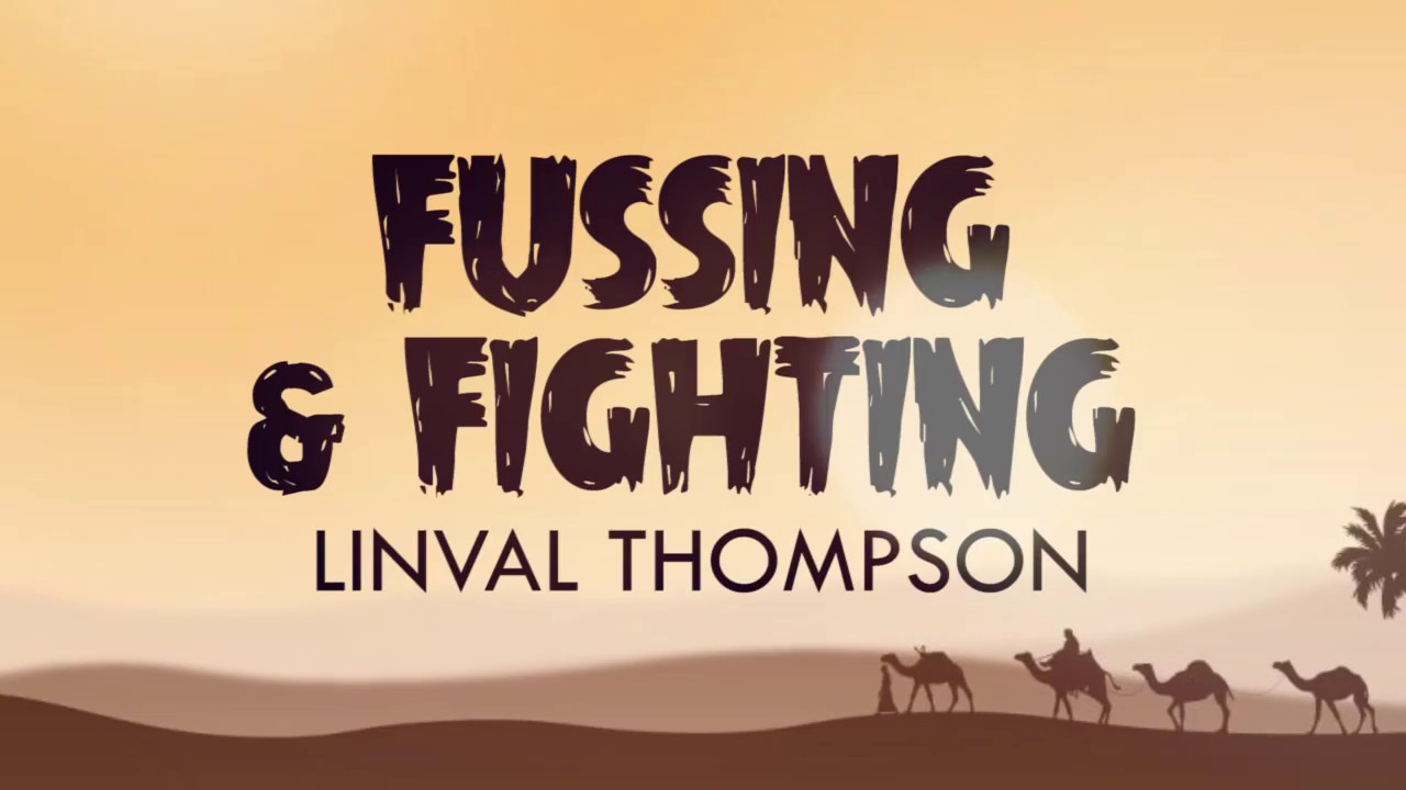 Linval Thompson - Fussing & Fighting (Lyric Video) [5/1/2018]