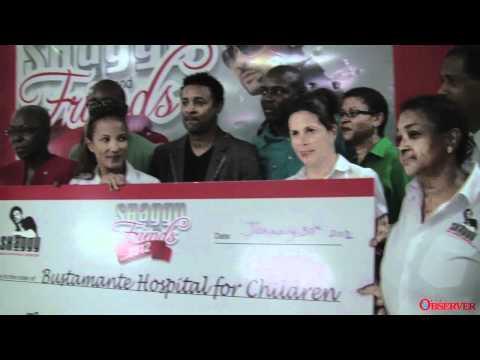 Press Conference: Shaggy & Friends 2012 Raises 32 Million JA-$ [1/30/2012]