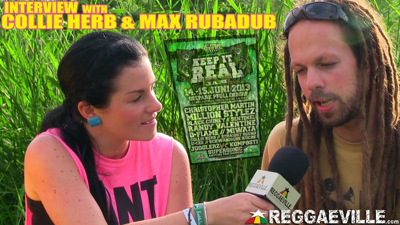 Interview with Collie Herb & Max RubADub @ Keep it Real Jam [6/15/2013]