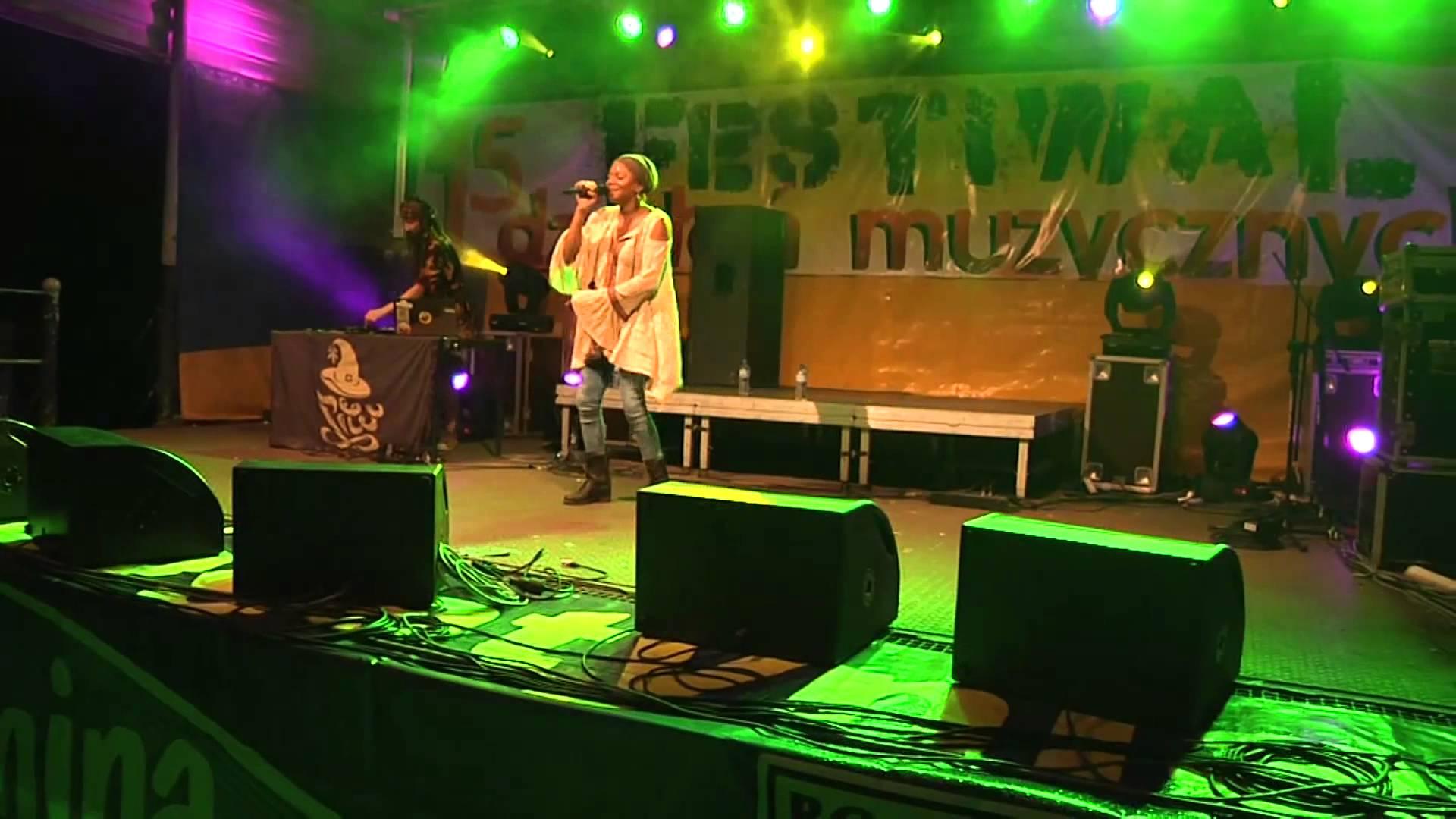 Tamika & K-Jah Sound @ Festiwal Działań Muzycznych 2015 in Bogatynia, Poland [8/28/2015]