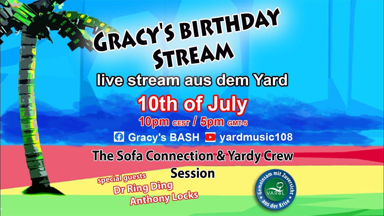 Gracy's Birthday Livestream 2021 [7/10/2021]