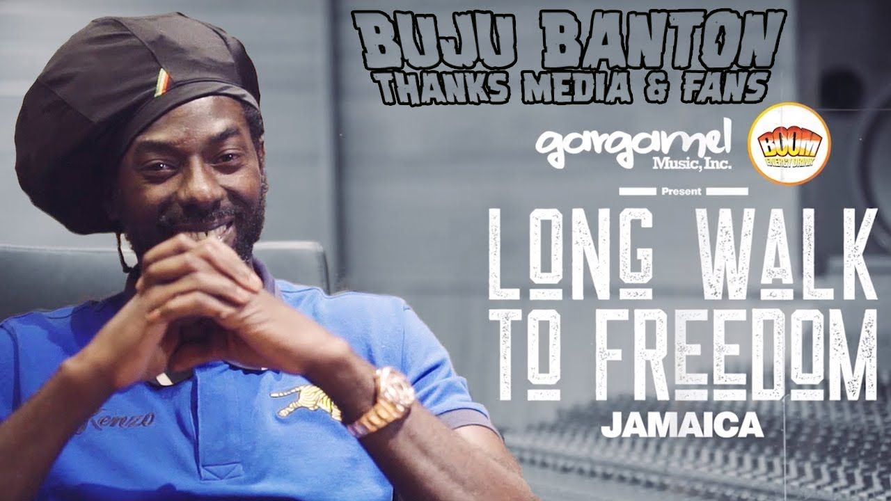 Buju Banton - Video Message @ Long Walk To Freedom Launch in Kingston, Jamaica [1/16/2019]