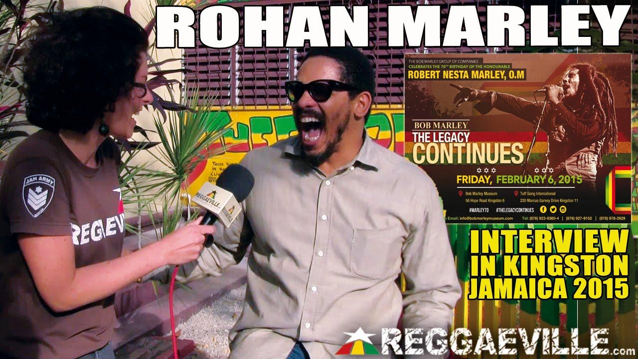 Interview with Rohan Marley @ Bob Marley 70th Birthday Celebration in Jamaica [2/6/2015]