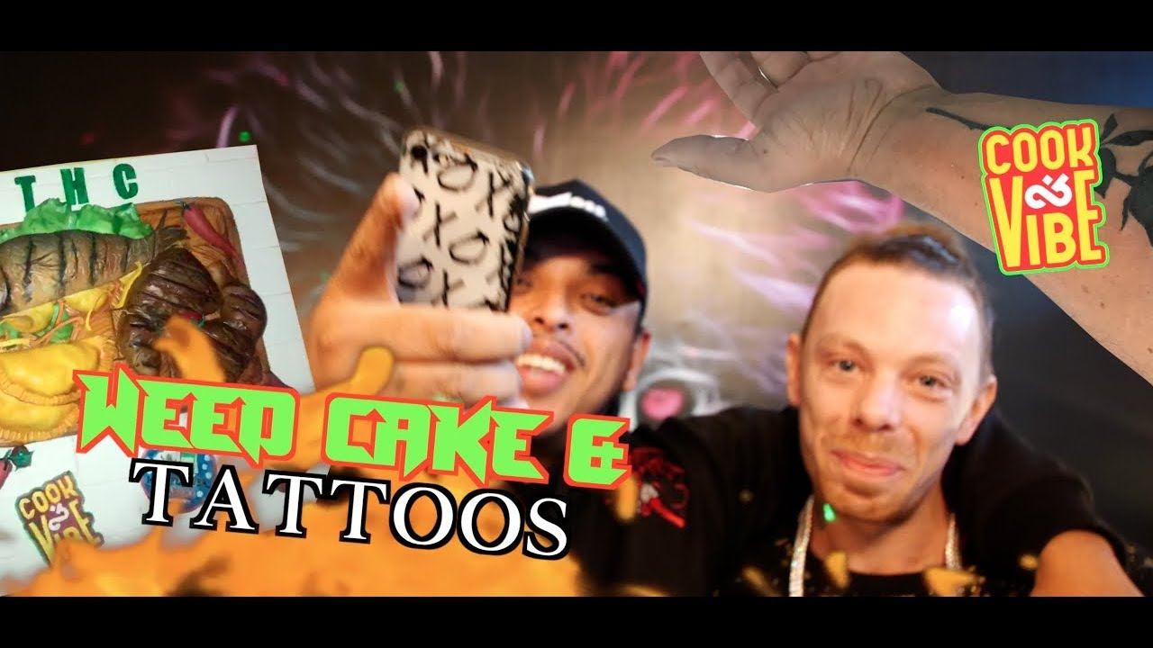 M dot R - Cook & Vibe #21 | Weed Cake & Tattoo [12/1/2019]
