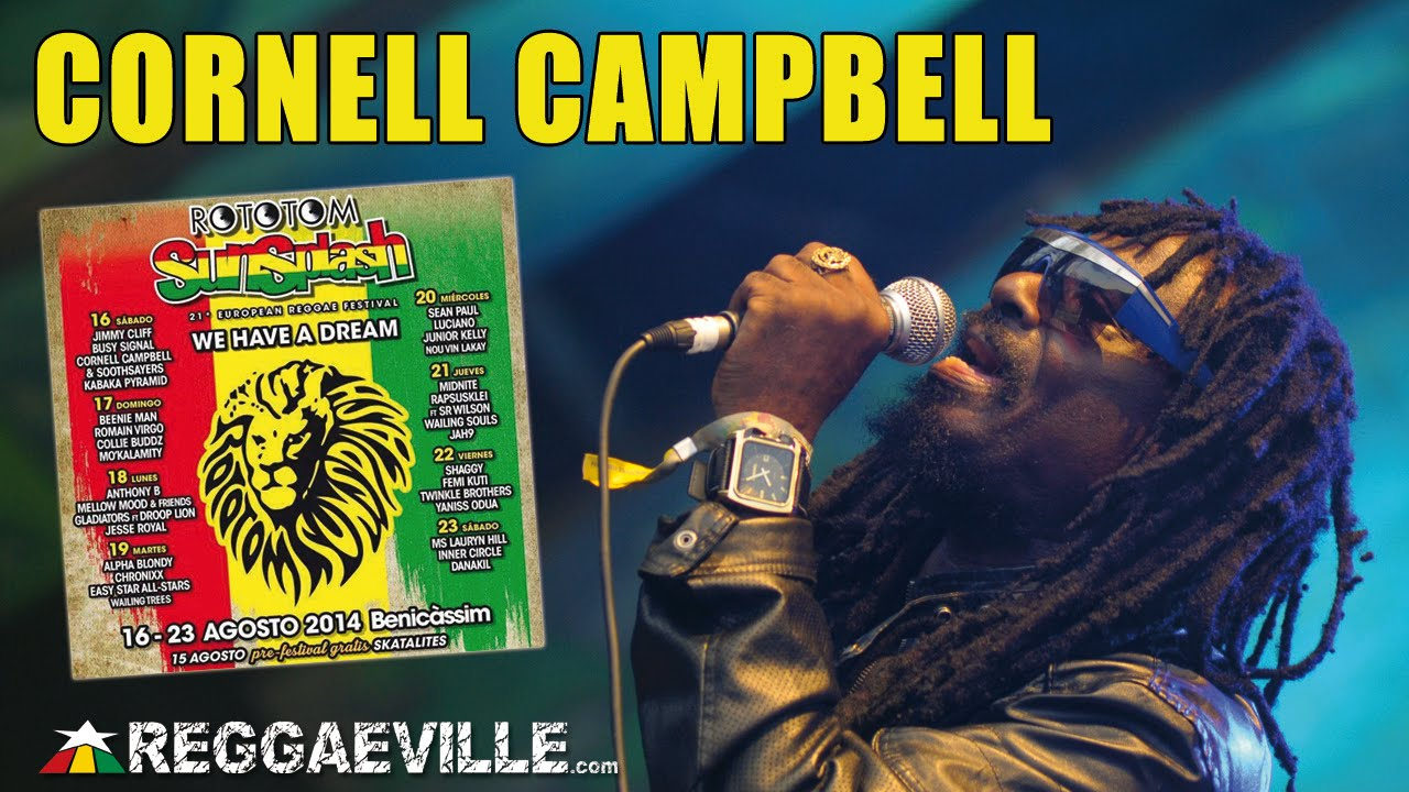 Cornell Campbell - Natty Dreadlocks @ Rototom Sunsplash 2014 [8/16/2014]