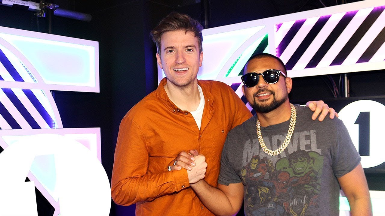 Video: Sean Paul plays Impossible Karaoke with Greg James @ BBC