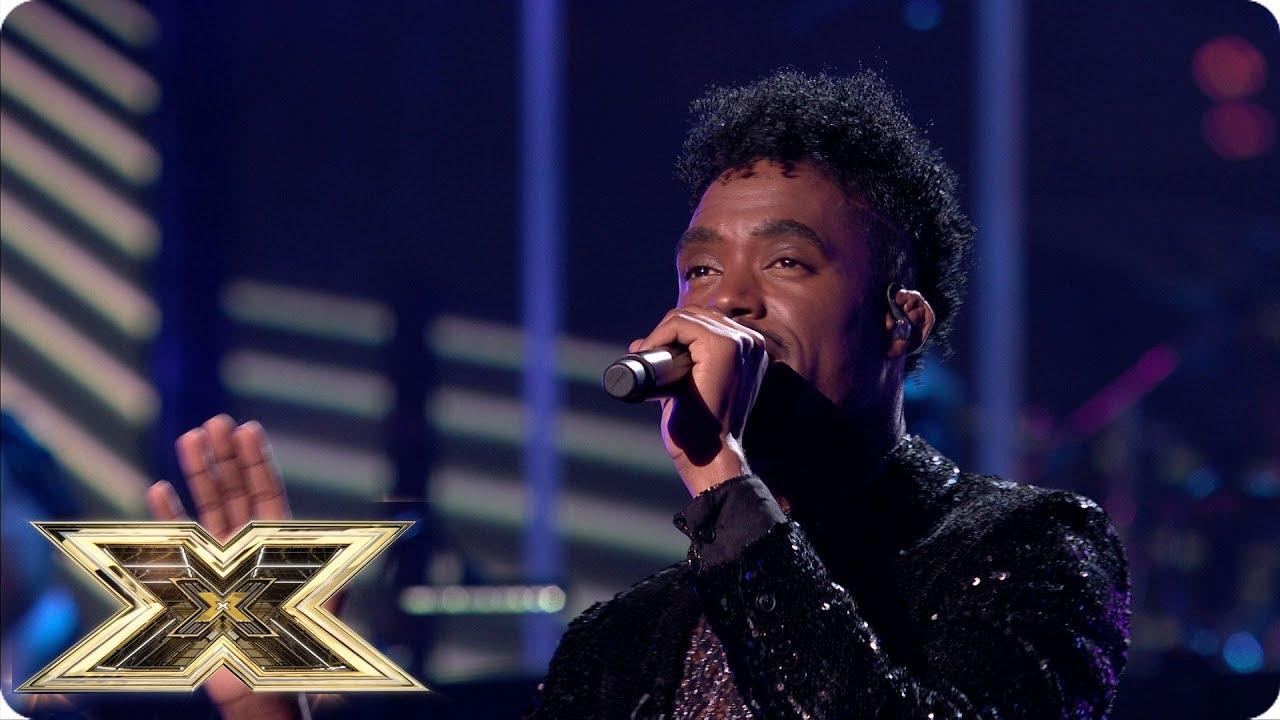Dalton Harris - Listen @ X Factor UK 2018 - Live Shows Week 5 [11/17/2018]