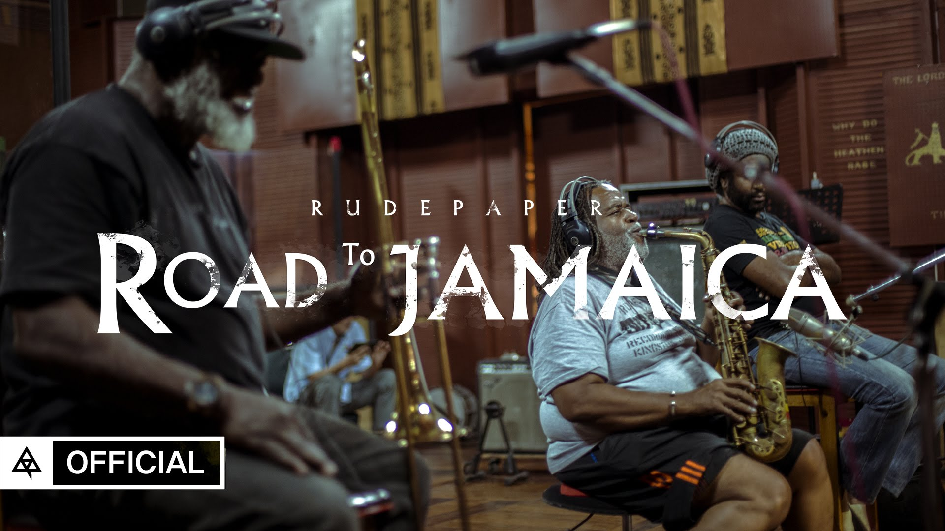 Korean band Rude Paper @ Tuff Gong Studio with Dean Fraser & Earl Chinna Smith [2/15/2016]